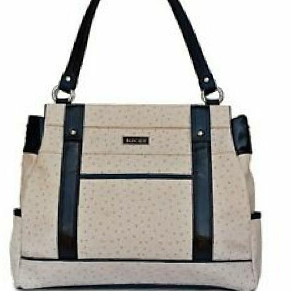 Miche Handbags - ⛔SOLD⛔Prima shell lacy Ostritch Faux Leather shoul